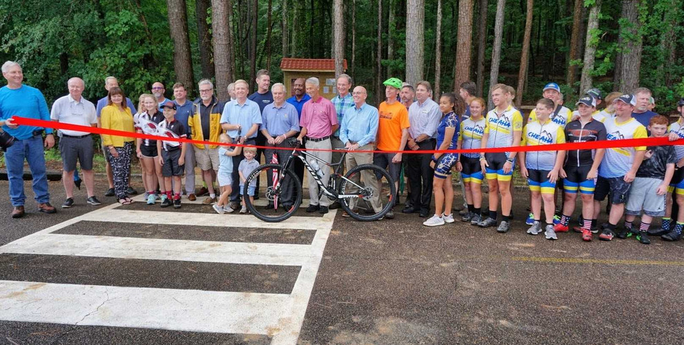 McClellan Trails Ribbon Cutting